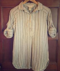 Max Studio striped tunic