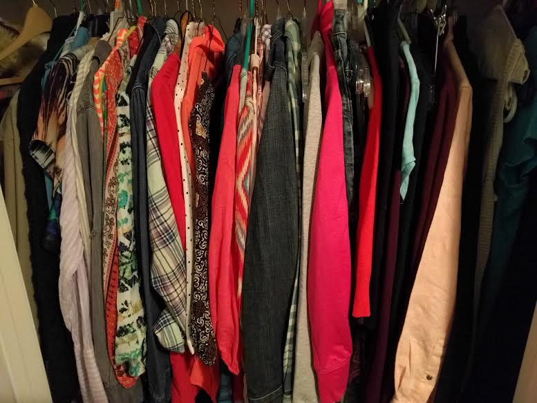 Organizing my Wardrobe Once & for all