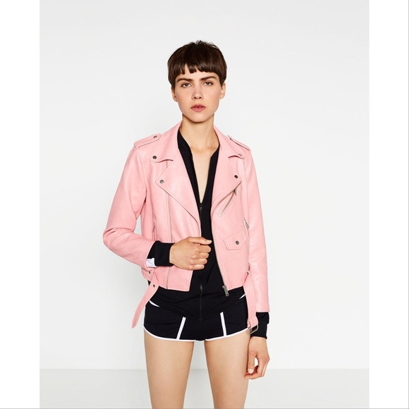 Zara Basic pink vegan