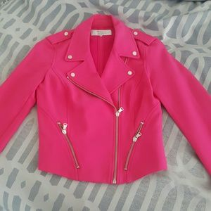 Zara lookalike hot pink knit