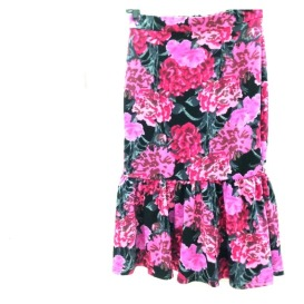 Asos floral scuba skirt