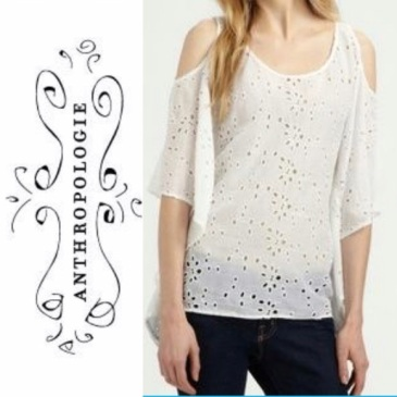 Anthropologie eyelet
